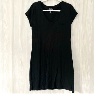 GAP V-Neck Black Dress (M)